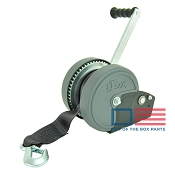 DLX Boat Trailer Winch 1900 lb Capacity with Winch Strap Dutton Lainson