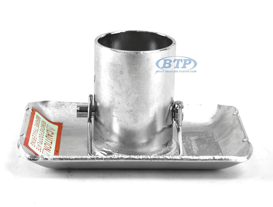 Trailer Zinc Plated Sandfoot for Jack