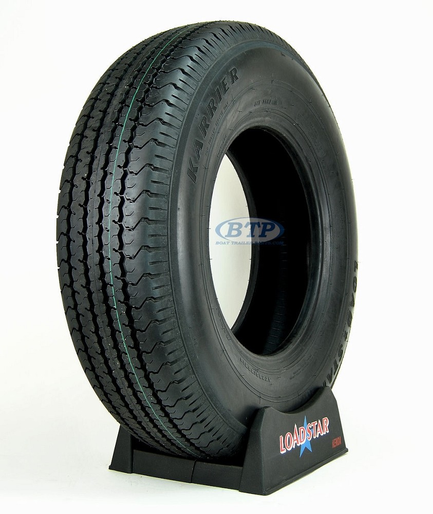 Trailer Tire ST235/80R16 Load Range E rated to 3500 lbs by Loadstar
