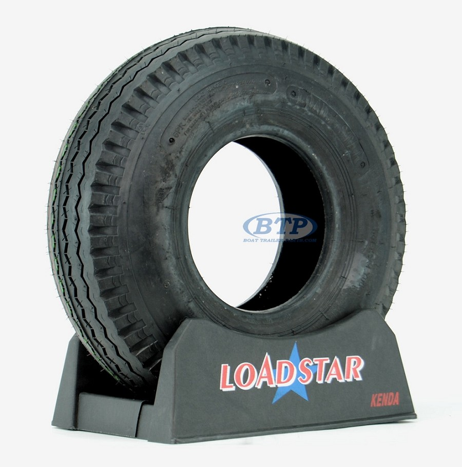 Trailer Tire 5.70x8 Bias Ply 8 in Load Range C 910lb by Loadstar