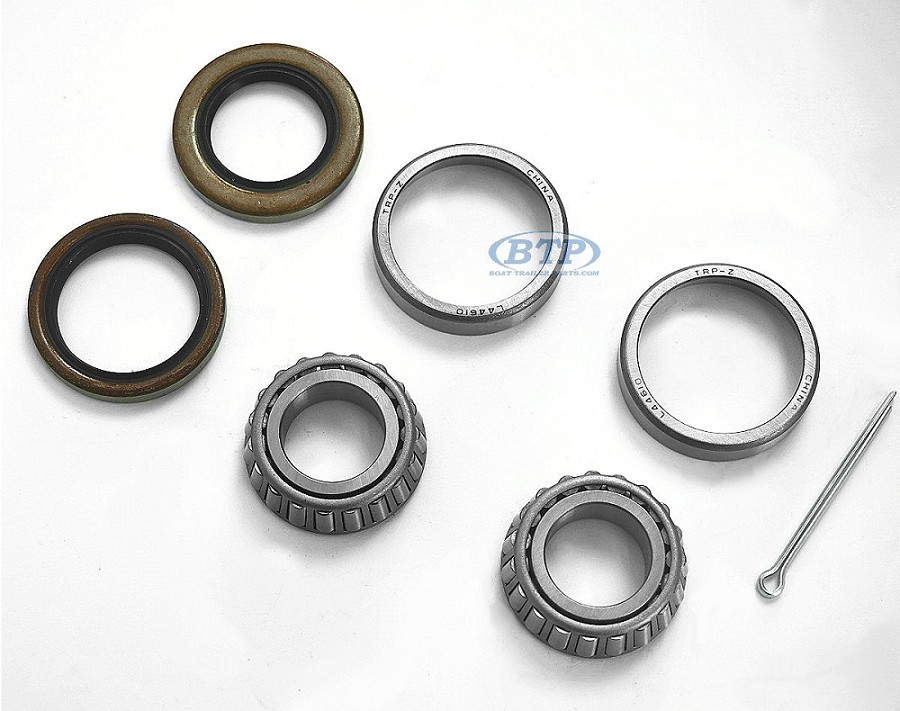 1 Inch Trailer Wheel Bearing Kit with Races, Seal, Bearings 44643