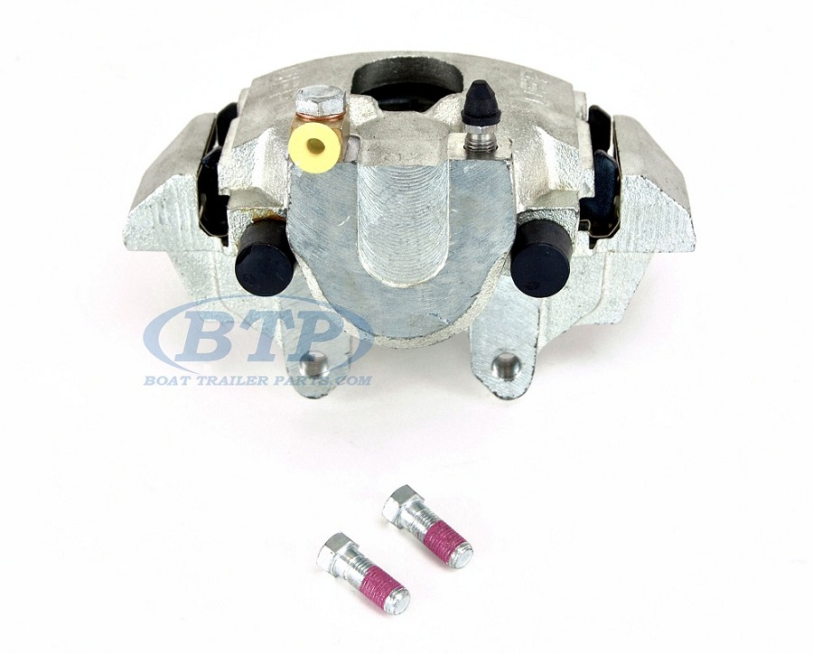UFP Boat Trailer Disc Brake Caliper DB-35 Zinc Plated Left Hand with Pads