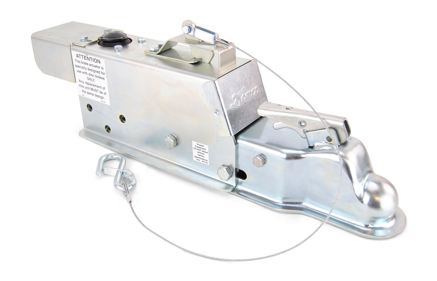 "Demco Hydraulic Surge Actuator for Disc Brakes 8600lb Capacity with Electric Lockout Solenoid 2"" Ball"