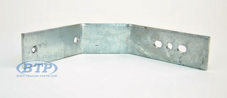 Boat Trailer Fender Bracket with Double Bend Large for Single Axle