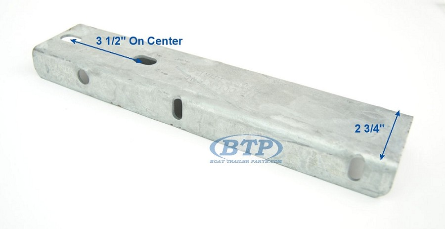 Boat Trailer Galvanized Fender Mounting Bracket Step Pad