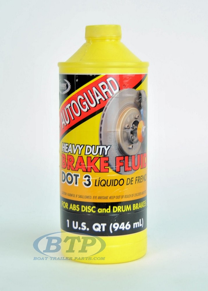 AutoGuard Super Heavy Duty Boat Trailer Brake Fluid 32oz