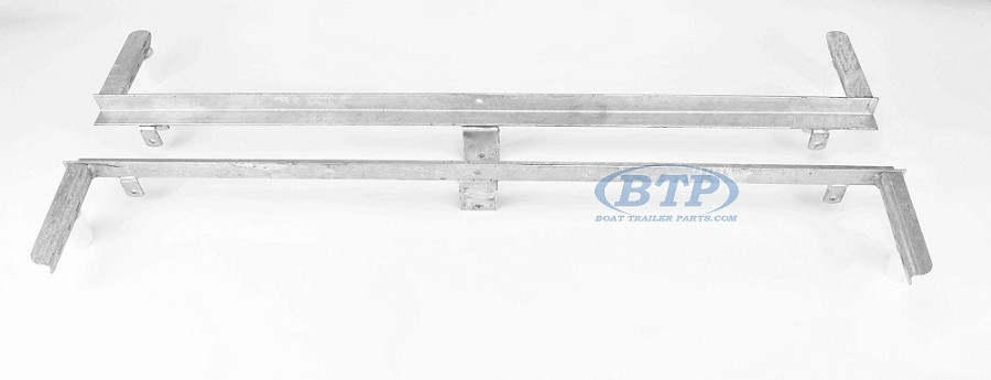 Boat Trailer Leaf Spring Slider Tandem Axle PAIR For 25 1/4 Double Eye Springs