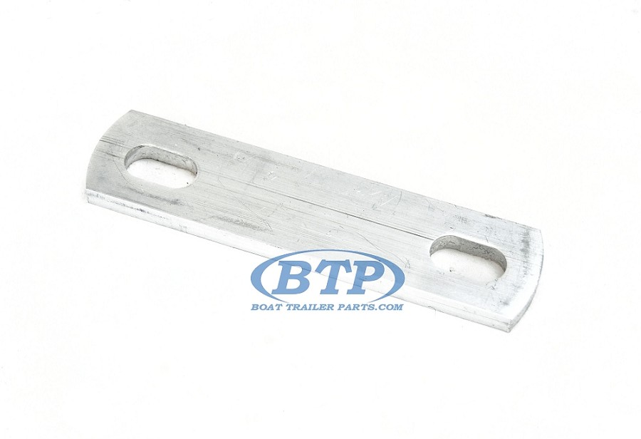 "Aluminum Frame Plate 6 1/2"" Overall Length for 1/2"" U Bolt or Bolts"
