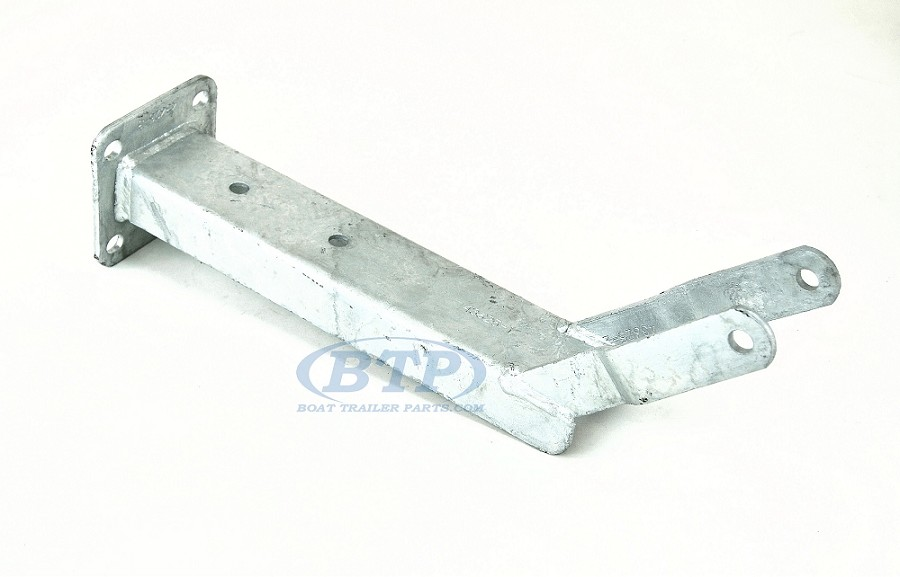 Boat Trailer Galvanized Winch Mount with Roller Bracket 3 inch Wide